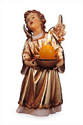 LEPI Angel with gold dress (10164-AOR)