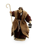 St.Joseph w/ walking stick and lantern (10903-03B)