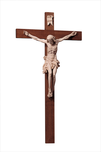 Crucifix of Boehmen cross L. 28.34 inch (10013-B) (0,00