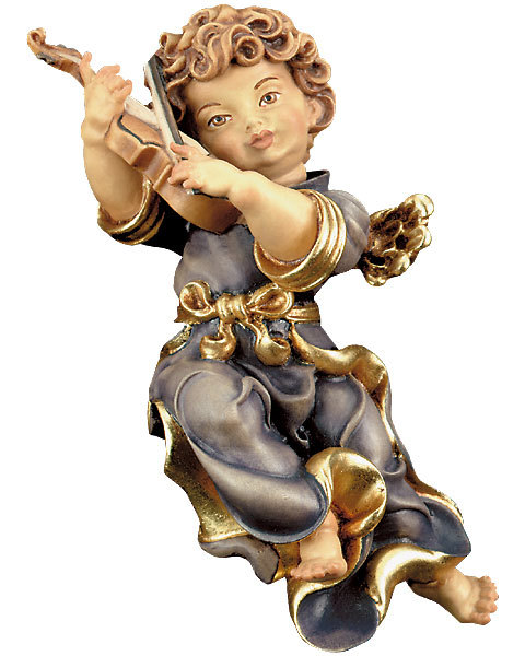 Baroque angel with violin 11.81 inch (10251-C) (0,00